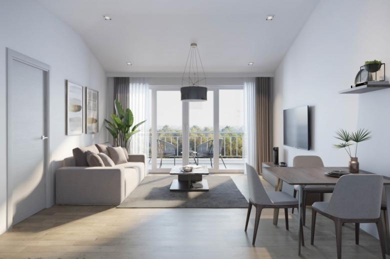 3-Zimmer-Neubau-Wohnung mit Garten in Eggelsberg zu mieten - Erstbezug.