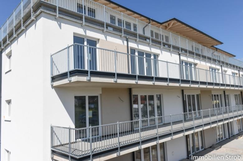 2-Zimmer-Neubauwohnung mit Garten nahe Mattighofen zu mieten.
